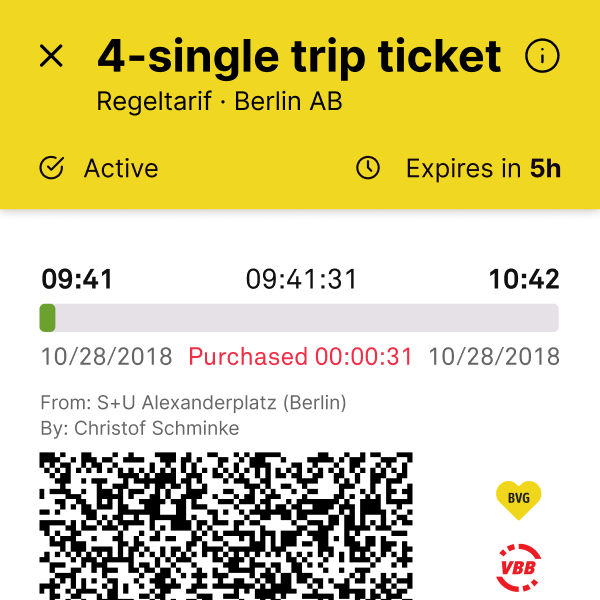 Ticketing app